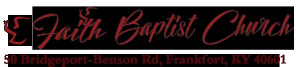 FAITH BAPTIST Church of FRANKFORT KY